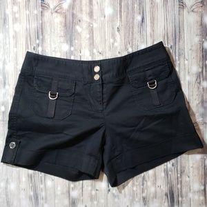 White House Black Market Black Shorts Size 6